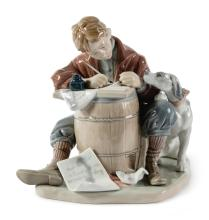 NORMAN ROCKWELL BY LLADRO | Love Letter