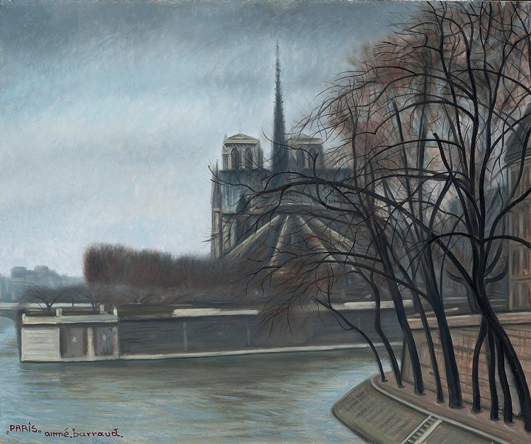 AIMÉ BARRAUD 1902-1954 NÔTRE DAME (PARIS), 1931
