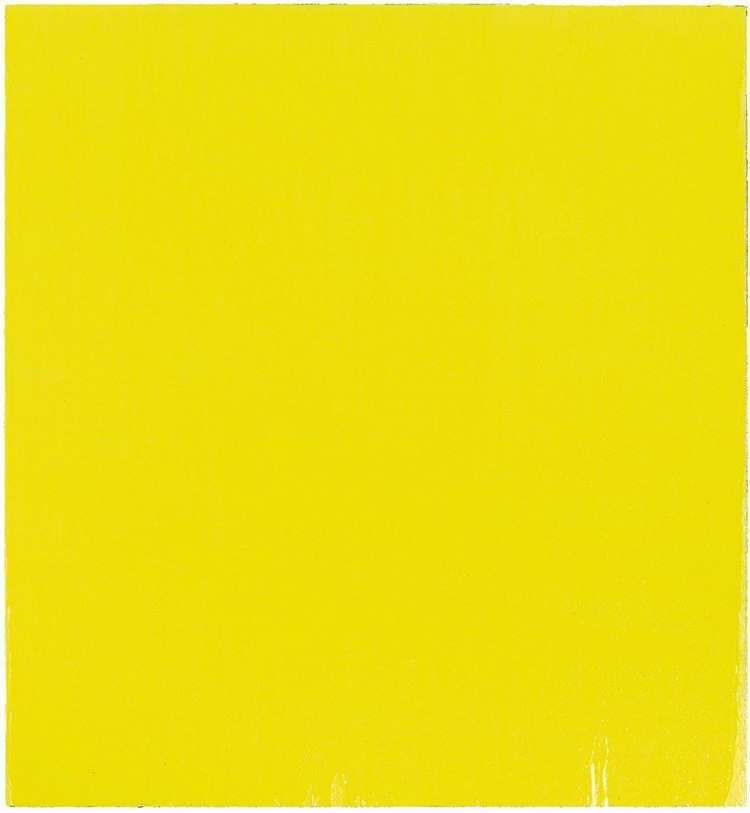 JOSEPH MARIONI 1943 YELLOW PAINTING #14, 1995