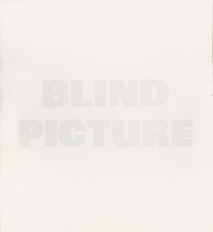 REMY ZAUGG 1943 BLIND PICTURE, 1987-89