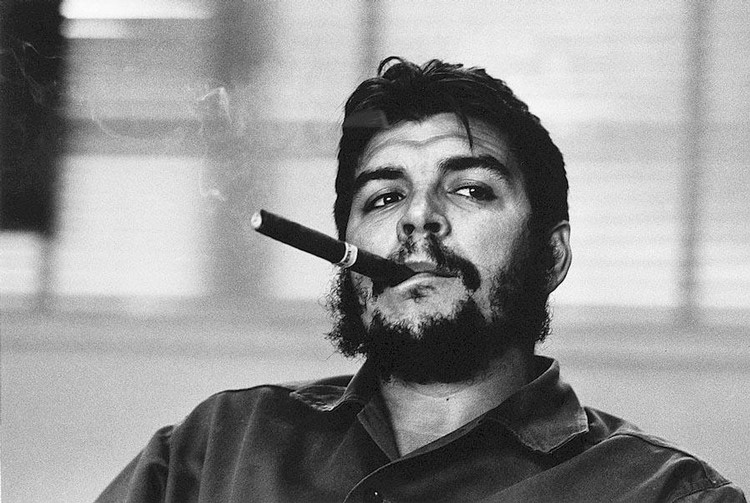 RENÉ BURRI 1933 ERNESTO CHE GUEVARA, HABANA CUBA, 1963