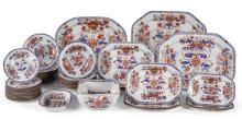 A SPODE STONE-CHINA IMARI PART-DINNER SERVICE, 19TH CENTURY |