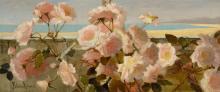 FRIEDA VOELTER REDMOND, 1857 - 1939   The End of the Garden, Menton, France