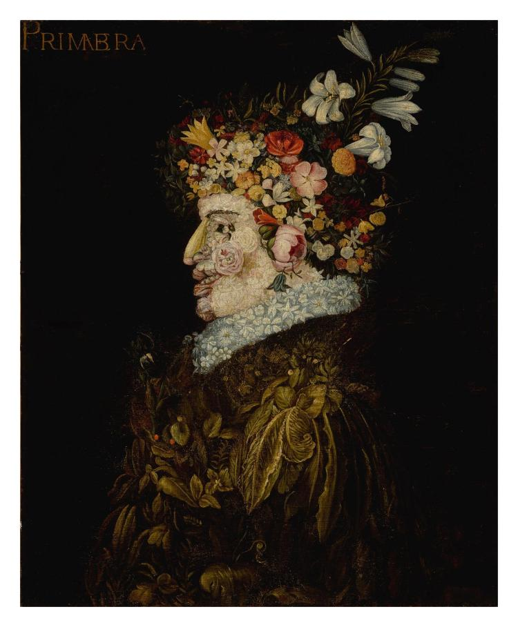 FOLLOWER OF GIUSEPPE ARCIMBOLDO | An anthropomorphic allegory of Spring