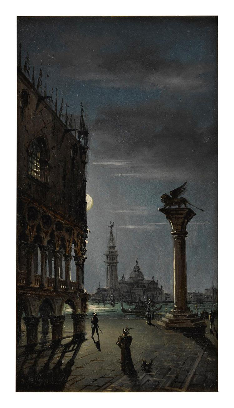 MARCO GRUBACS | Piazza San Marco by moonlight, Venice
