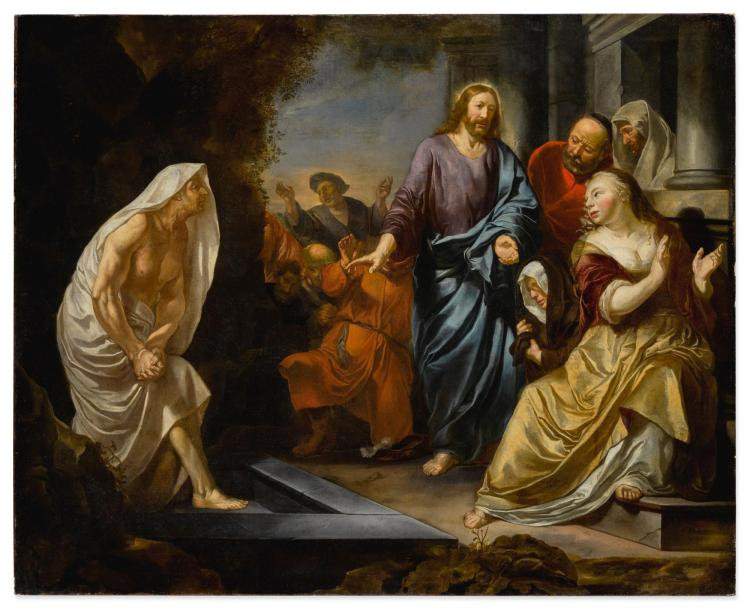 HENDRICK HEERSCHOP | The raising of Lazarus
