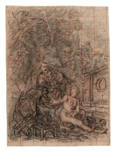 CHARLES DE LA FOSSE | <em>Recto </em>and<em> Verso</em>: Study for Susannah and the Elders