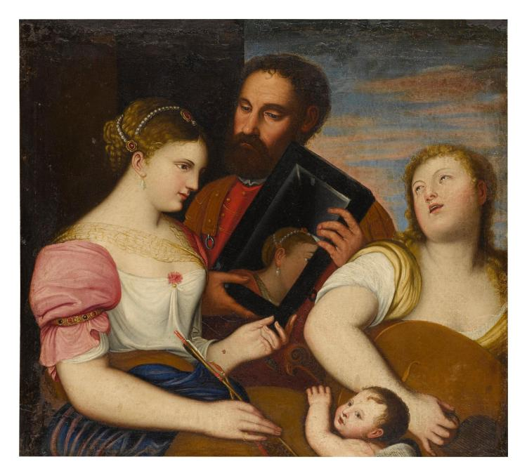 AFTER TIZIANO VECELLIO, CALLED TITIAN | An allegory of Marriage