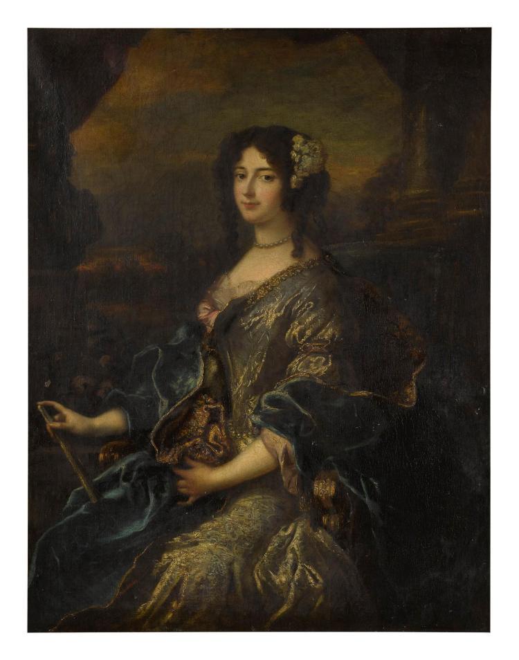 STUDIO OF PIERRE MIGNARD | Portrait of a lady, three-quarter length