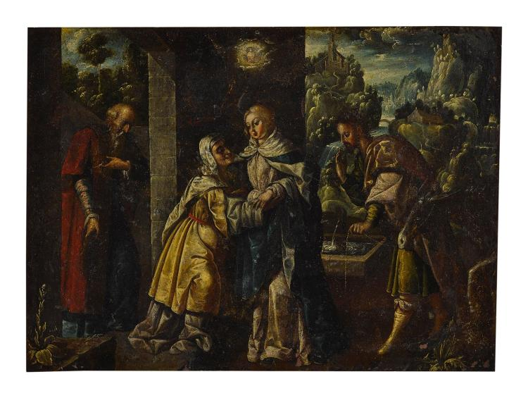 SPANISH SCHOOL, 17TH CENTURY | The Visitation
