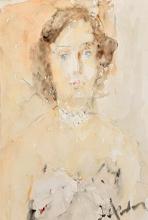 ARTUR FONVIZIN   Portrait of Zinaida Costakis