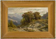 LEV FELIKSOVICH LAGORIO | Caucasian Landscape
