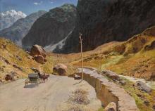 ALEXANDER ALEXANDROVICH KISELEV   Georgian Military Highway