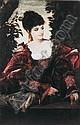 HANS MAKART AUSTRIAN, 1840-1884 DIE SÄNGERIN EMILIE TAGLIANA (THE SINGER EMILIA TAGLIANA), Hans Makart, Click for value