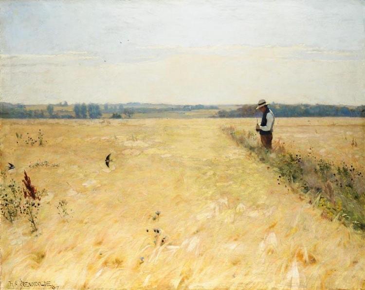 PROPERTY OF CODAN INSURANCE HANS ANDERSEN BRENDEKILDE DANISH, 1857-1920 I KORNMARKEN (IN THE