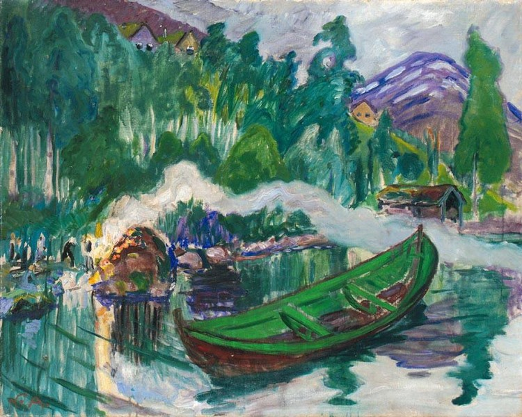 PROPERTY FROM A EUROPEAN PRIVATE COLLECTION f - NIKOLAI ASTRUP NORWEGIAN, 1880-1928 ST. HANSBÅL