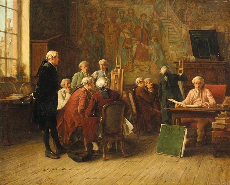 BENJAMIN-EUGÈNE FICHEL FRENCH, 1826-1895 LES CONNAISSEURS