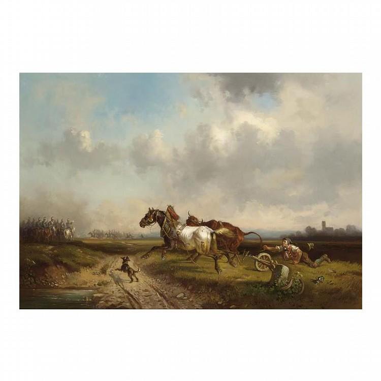 ADOLF SCHMIDT GERMAN, 1827-1880
