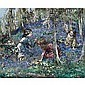 f - Edward Atkinson Hornel 1864-1933 , the bluebell wood  , E A Hornel, Click for value