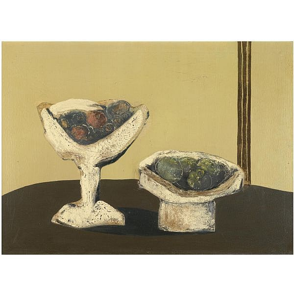 Bahman Mohasses , Iranian B. 1931 Still Life oil on canvas