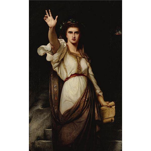 Charles Zacharie Landelle 1812-1908 , Vae victoribus! (Woe to the victors!) oil on canvas