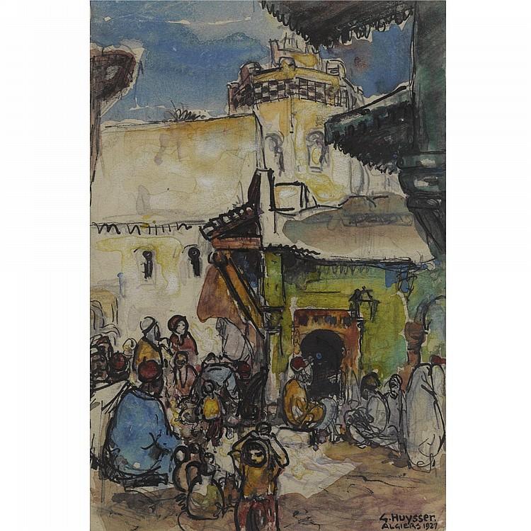 GERARD HUIJSSER, DUTCH, 1892 - 1970