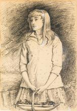 SIR JOHN EVERETT MILLAIS, P.R.A. | Sweetest Eyes were Ever Seen