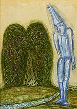CECIL COLLINS | Fool and Landscape