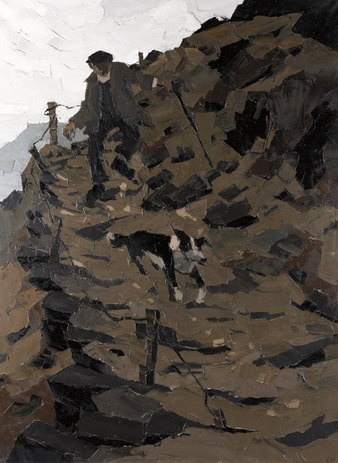 m - SIR KYFFIN WILLIAMS, R.A., B.1918