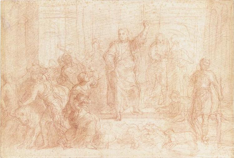 PIETRO ANTONIO DE' PIETRI PREMIA 1663 - 1716 ROME