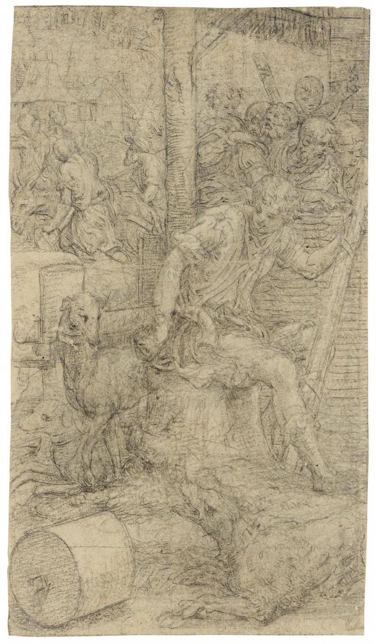 GIULIO CAMPI CREMONA CIRCA 1505 - 1572