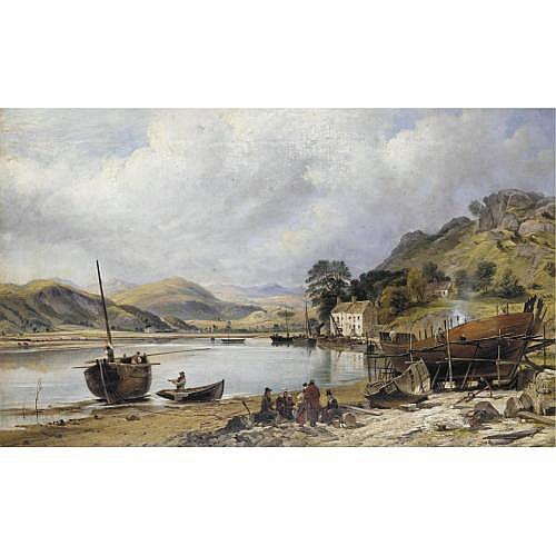 Charles Tattershall Dodd, 1815-1878 , Shipbuilding at Penmaepool, Merioneth