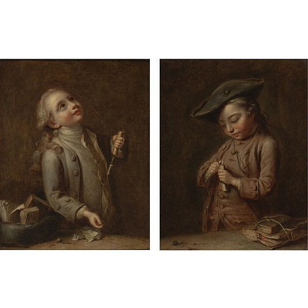 Louis Aubert , active in France 1740 - 1780 