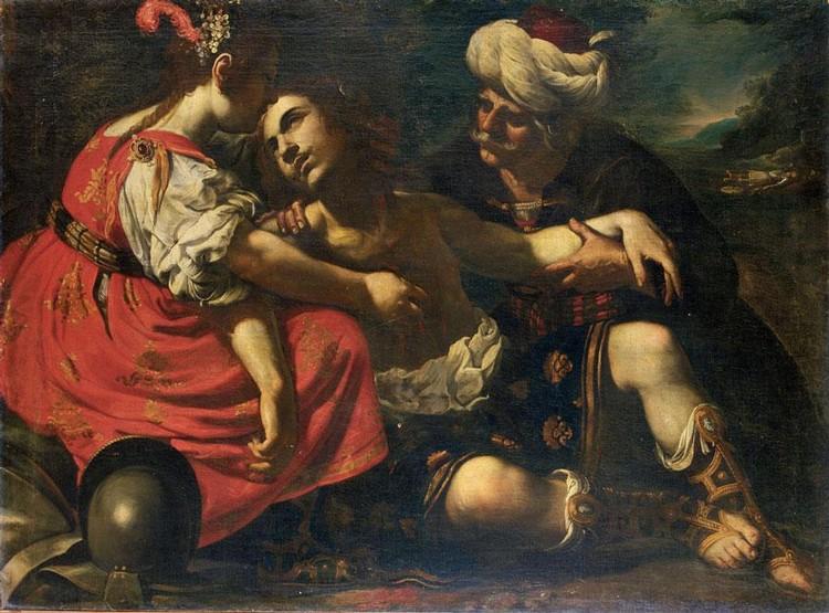 RUTILIO MANETTI SIENA 1571-1639