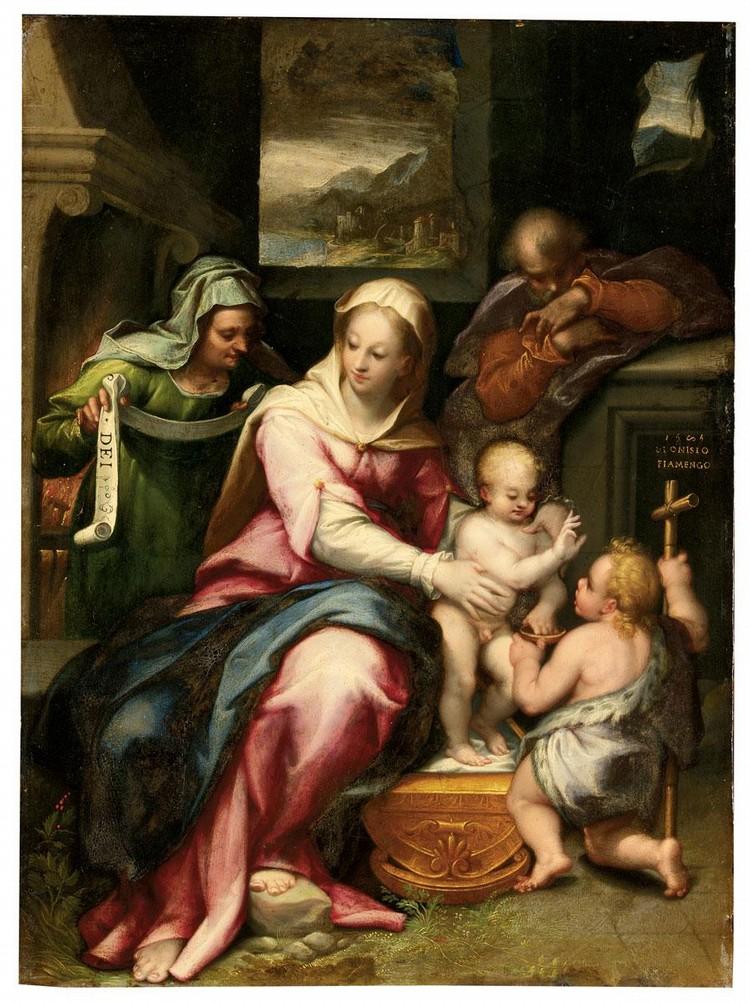 DENYS CALVAERT ANVERSA 1540-1619 BOLOGNA