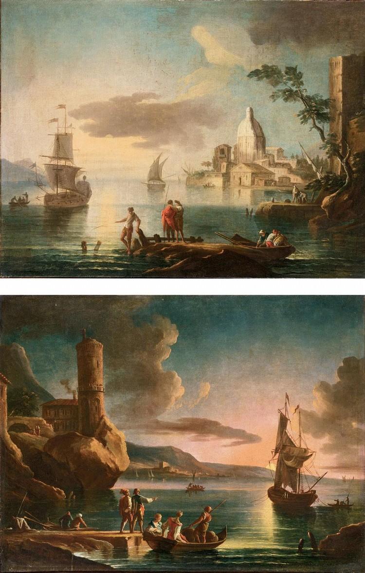 PAOLO MARIA ANTONIANI MILANO 1735-1807 TORINO