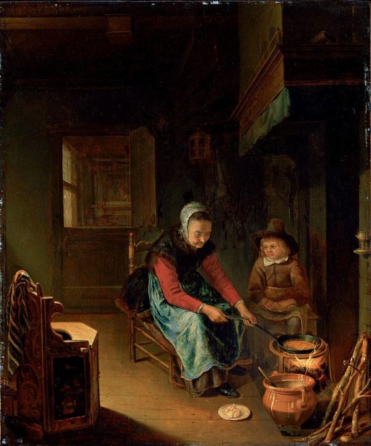 PIETER CORNELISZ. VAN SLINGELAND LEIDEN 1640 - 1691