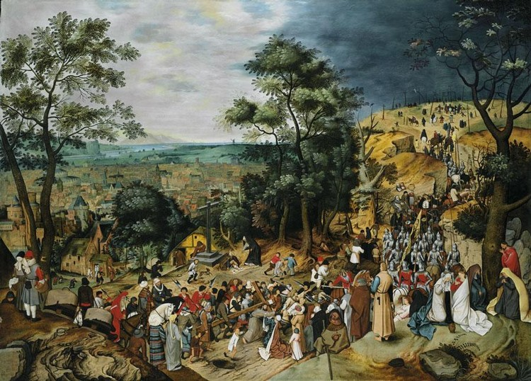 l - PIETER BRUEGHEL THE YOUNGER BRUSSELS 1564 - 1637/8 ANTWERP