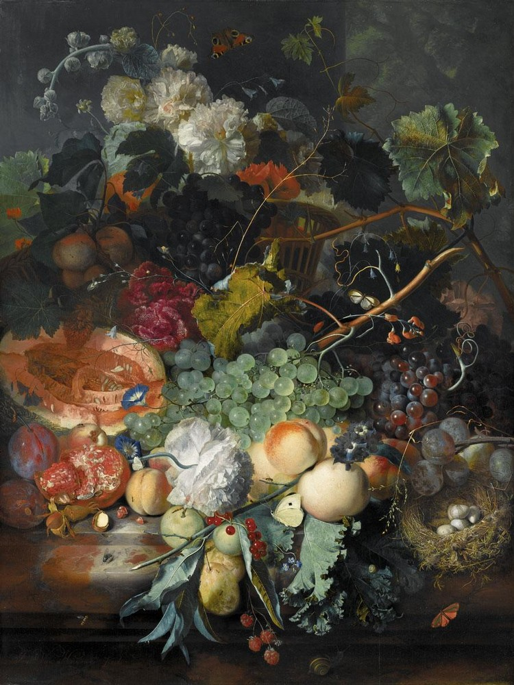 JAN VAN HUYSUM AMSTERDAM 1682 - 1749