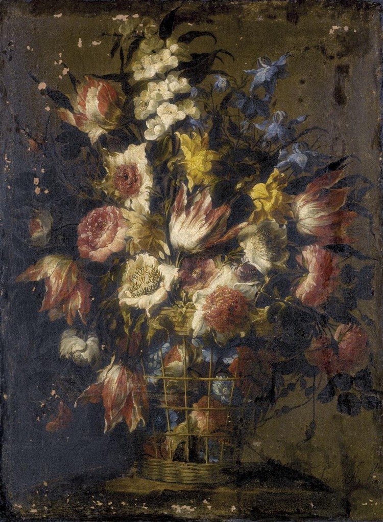 JUAN DE ARELLANO SANTORCAZ 1614 - 1676 MADRID