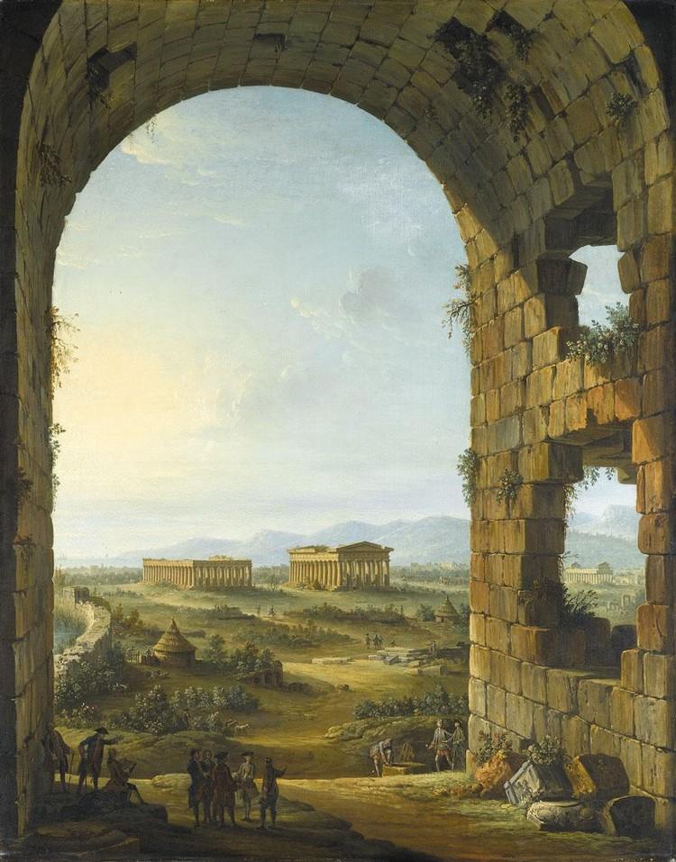 f - ANTONIO JOLI MODENA CIRCA 1700 - 1777 NAPLES