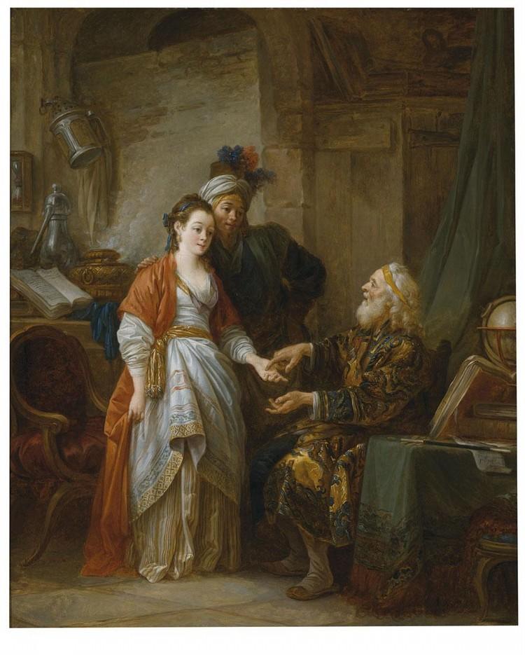 f - JEAN-BAPTISTE LE PRINCE METZ 1734 - 1781 SAINT-DENIS-DU-PORT, SEINE-ET-MARNE
