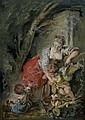 f - FRANÇOIS BOUCHER PARIS 1703 - 1770, Francois Boucher, Click for value