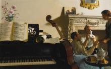 JOHN KOCH<BR>1909 - 1978 | Three Musicians