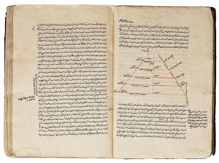 ABU 'ABDULLAH MUHAMMAD IBN 'ALI IBN MUHAMMAD (KNOWN AS IBN 'ARABI AL-HATIMI AL-TA'I, D.1240 AD), AL-FUTUHA AL-MAKKIYAH, VOL.III, ON PHILOSOPHY, SIGNED BY 'IMAD AL-DIN IDRISS AL-KARAMI AL-ISMA'ILI,YEMEN, SANA'A, DATED 857 AH/1453-54 AD |
