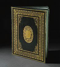 AN ILLUMINATED MURAQQA' OF KA'B IBN ZUBAYR'S QASIDA AL-BURDA, SIGNED BY MUSTAFA IZZET, TURKEY, DATED 1265 AH/1849 AD |