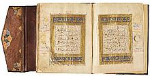 A LARGE ILLUMINATED QUR'AN, EGYPT, MAMLUK, MID-14TH CENTURY |