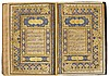 A LARGE ILLUMINATED QUR'AN, COPIED BY MUHAMMAD REZA IBN MUHAMMAD TAQI AL-TABRIZI, DEDICATED TO SAMSAM AL-DAULAH KHAN-E DAURAN, INDIA, MUGHAL, DATED 1145 AH/1732-33 AD  |