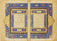 MAHMUD IBN MUHAMMAD 'ARIFI HARAVI (D. CIRCA 1449), GUY VA CHAWGAN (ALSO KNOWN AS HAL-NAMEH), SIGNED BY SHAH MAHMUD AL-NISHAPURI, PERSIA, SAFAVID, CIRCA 1540-50 |
