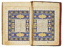 JALAL AL-DIN MUHAMMAD RUMI, (D.1273 AD), THE SIX BOOKS OF THE MATHNAWI, PERSIA, TIMURID, DATED 881-6 AH/1476-81 AD |